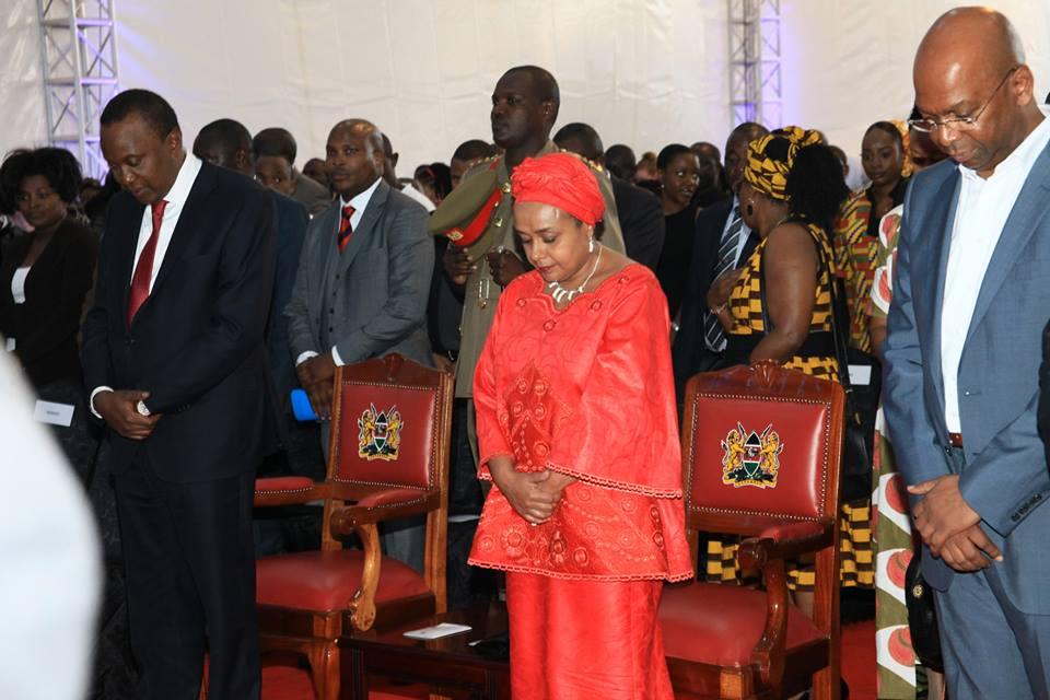 President Uhuru Kenyatta and 1st Lady Margaret Kenyatta